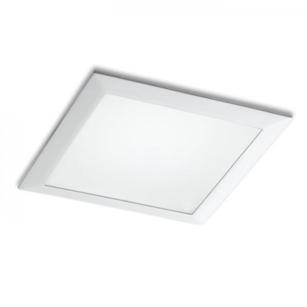 RENDL vestavné světlo SEEYOU 15 čtvercová zápustná bílá 230V/350mA LED 16W 3000K R10300 1