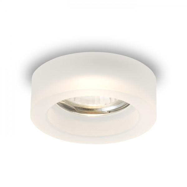 RENDL luz empotrada BIANCA R empotrada vidrio satinado 230V GU10 50W R10305 1
