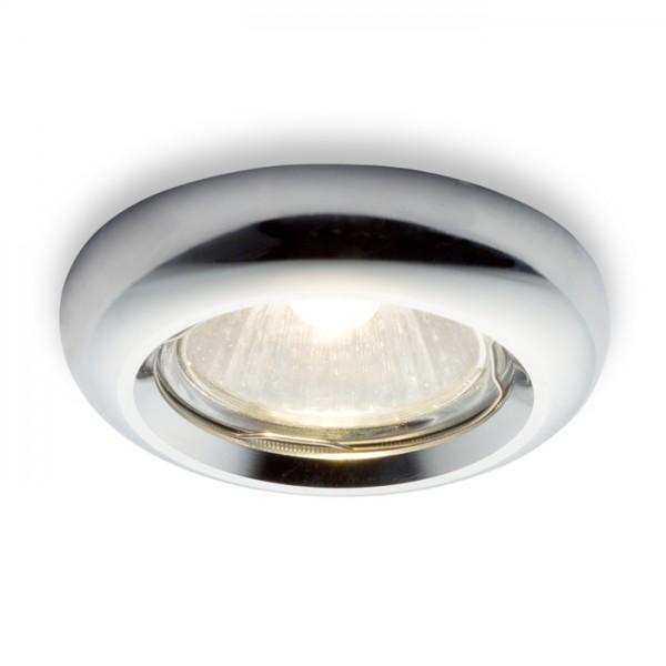 RENDL mennyezeti lámpa ESTA süllyesztett lámpa króm 230V GU10 50W R10310 1