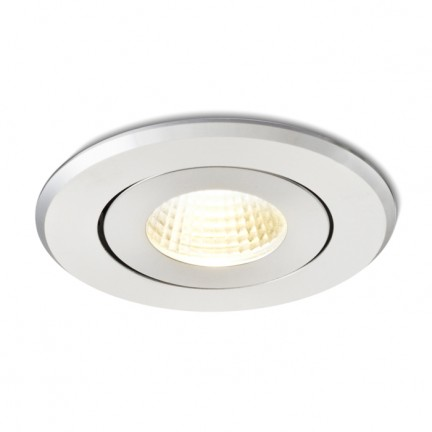 RENDL recessed light MAYDAY A recessed polished aluminium 230V/700mA LED 9W 2700K R10316 1