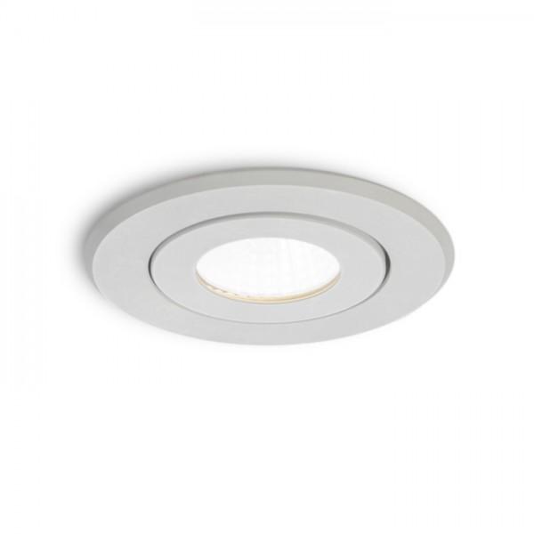 MAYDAY A zápustná biela  230V/700mA LED 9W  2700K