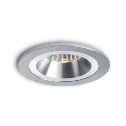 RENDL recessed light MAYDAY CC recessed brushed aluminum 230V/700mA LED 9W 2700K R10318 1
