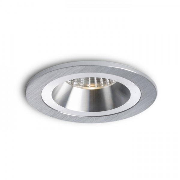 RENDL recessed light MAYDAY CC recessed brushed aluminium 230V/700mA LED 9W 2700K R10318 1