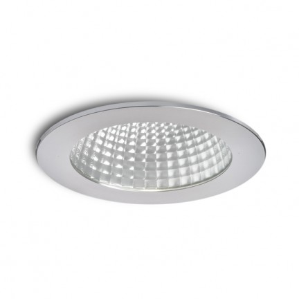 RENDL recessed light MAYDAY B 14 recessed polished aluminium 230V/500mA LED 15W 2700K R10320 1