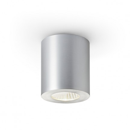 RENDL surface mounted lamp MAYO R ceiling fixed brushed aluminium 230V/700mA LED 9W 36° 2700K R10323 1