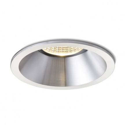 RENDL recessed light MAYDAY C recessed polished aluminium 230V/700mA LED 9W 2700K R10327 1