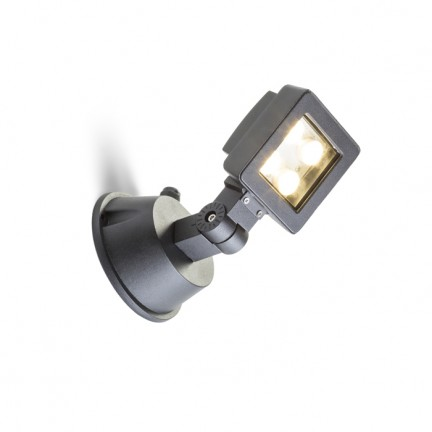 RENDL outdoor lamp KATHARIA with base black 230V/350mA LED 4x1W 99° IP54 3000K R10344 1
