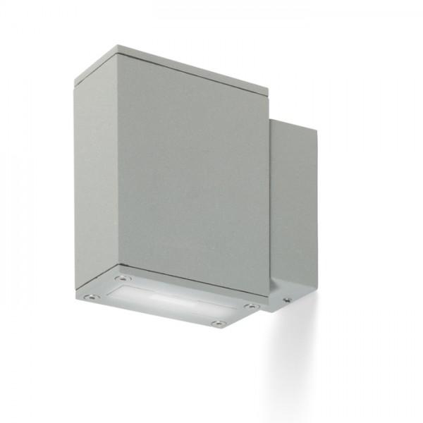 DIXIE 4x12 nástenná striebornosivá  230V/700mA LED 2x3W 48° IP54  3000K