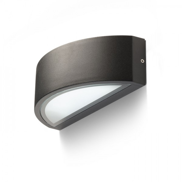RENDL outdoor lamp LESA wall black 230V E27 26W IP54 R10364 1