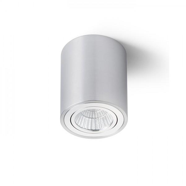 MAYO R stropná výklopná  česaný hliník 230V LED 9W 36°  2700K