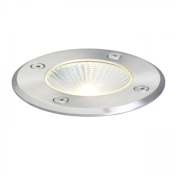 RENDL luminaria de exterior RIZZ R 105 acero inoxidable 230V LED 3W 96° IP65 3000K R10376 1