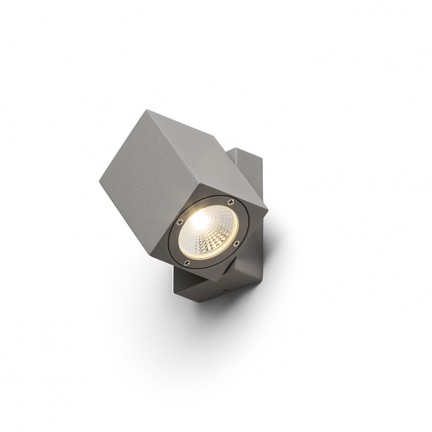 RENDL outdoor lamp DAZOOM directional silver grey 230V/350mA LED 7W 60° IP54 3000K R10378 1