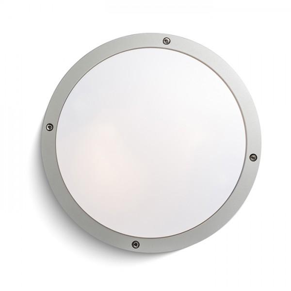 SONNY stropný striebornosivá  230V E27 2x18W IP54