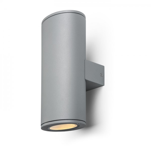 RENDL wall lamp FRED II wall silver grey 230V GU10 2x50W R10390 1
