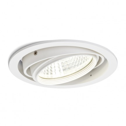 RENDL recessed light QTEC recessed white 230V/700mA LED 25W 33° 3000K R10393 1