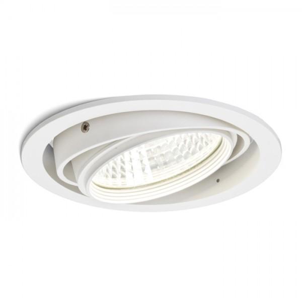 RENDL vestavné světlo QTEC zápustná bílá 230V/700mA LED 25W 33° 3000K R10393 1