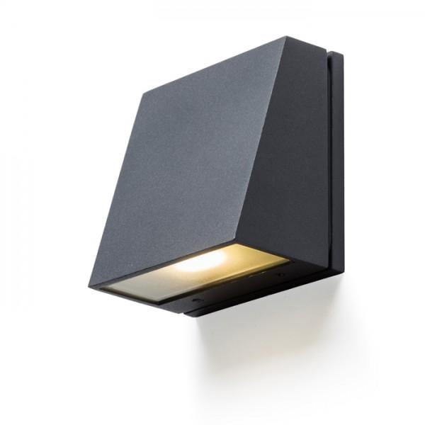 RENDL luminaria de exterior GIGI de pared gris antracita 230V LED 3.3W IP65 3000K R10399 1