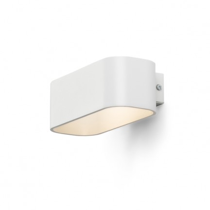 RENDL Wandleuchte REEM Wandleuchte weiß 230V LED 4.5W 3000K R10401 1