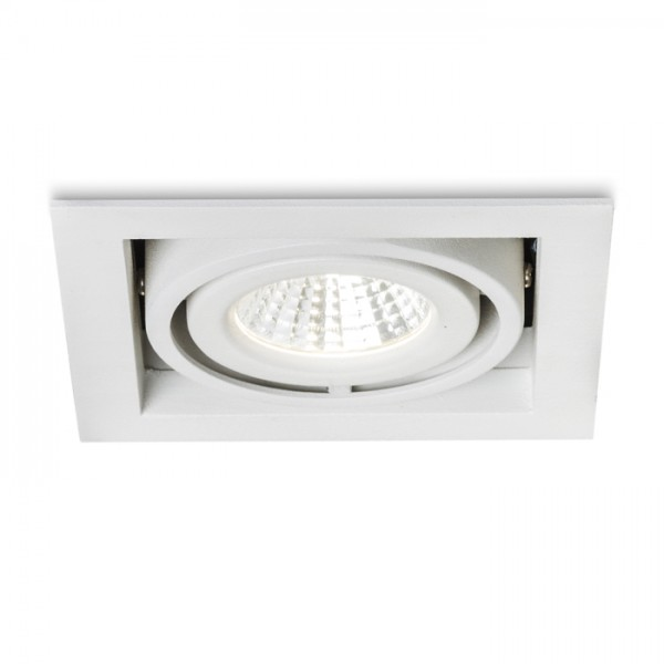 RENDL recessed light LEDA recessed white 230V/350mA LED 5.4W 25° 3000K R10402 1