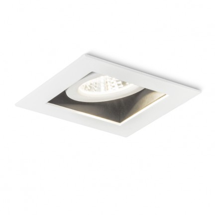 RENDL recessed light SAM recessed directional white 230V LED 5.4W 27° 3000K R10403 1