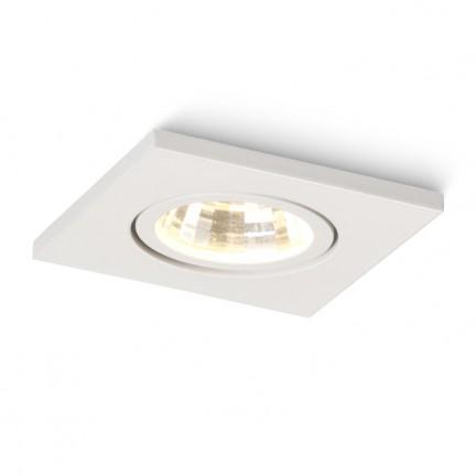RENDL verzonken lamp TECA SQ verstelbare lamp wit 230V/320mA LED 3W 3000K R10416 1