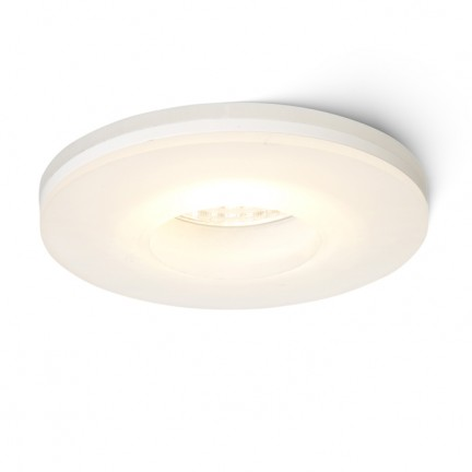RENDL recessed light KAY R recessed satinated glass 230V/350mA LED 5W 3000K R10419 1