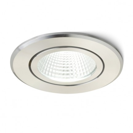 RENDL recessed light MIRO recessed stainless steel 230V/350mA LED 3W 3000K R10420 1