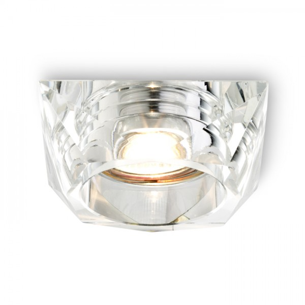 RENDL spotlight NINA recessed clear glass 230V GU10 50W R10422 1