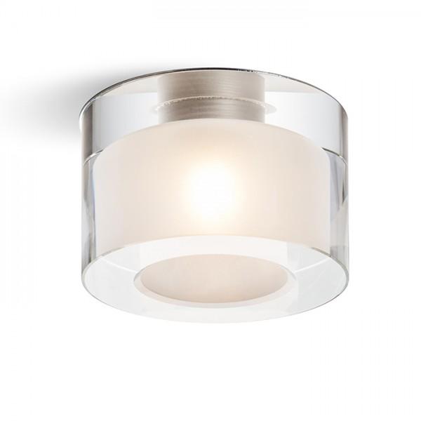 RENDL upotettava valaisin ANNA pyöreä kirkas lasi/satiinilasi 230V G9 40W R10424 1