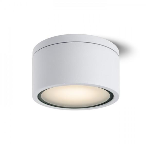 RENDL luminaria de exterior MERIDO de techo blanco 230V GX53 11W IP54 R10428 1