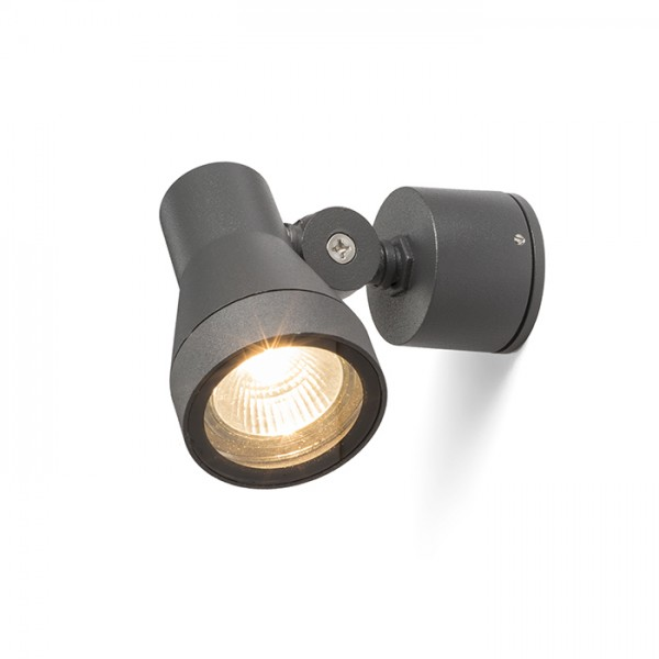 RENDL outdoor lamp DIREZZA wall anthracite grey 230V GU10 35W IP54 R10432 1