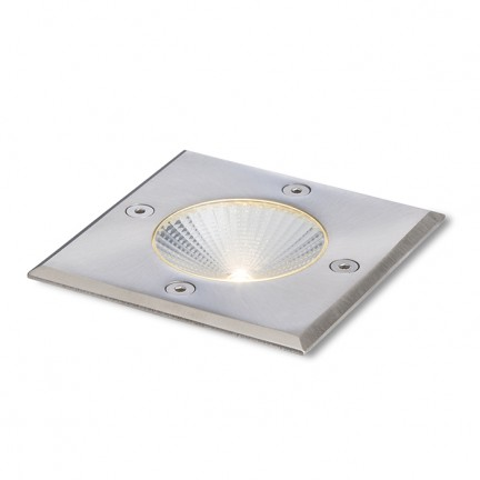 RENDL luminaria de exterior RIZZ SQ 105 acero inoxidable 230V LED 3W 96° IP65 3000K R10436 1
