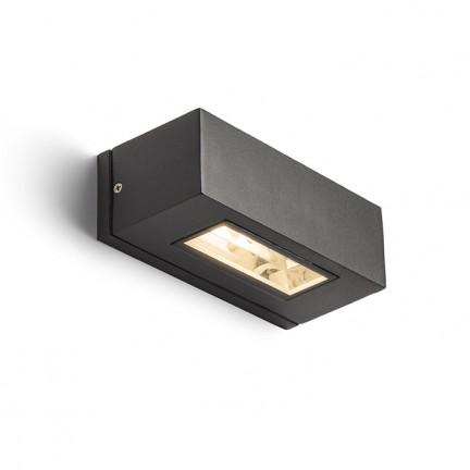RENDL venkovní světlo WOOP nástěnná antracitová 230V R7s 78mm 48W IP54 R10439 1