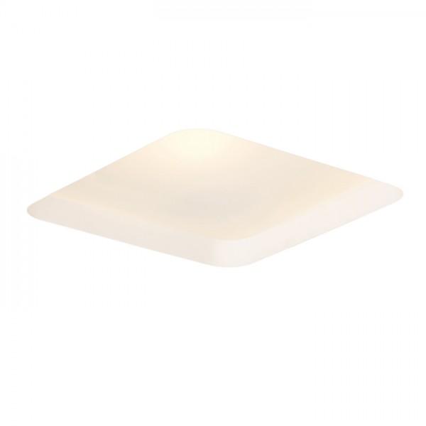 RENDL verzonken lamp MIA SQ inbouwlamp Gips/Gesatineerd glas 230V E27 2x18W R10443 1