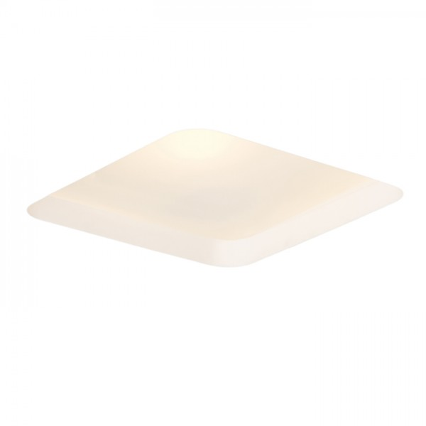 RENDL luz empotrada MIA SQ empotrada yeso/vidrio satinado 230V E27 2x18W R10443 1