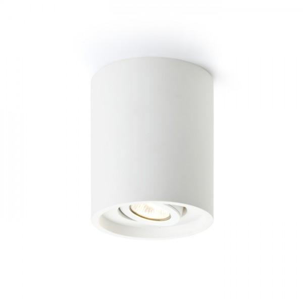 RENDL přisazené svítidlo COLES stropní náklopná sádrová 230V GU10 15W R10454 1