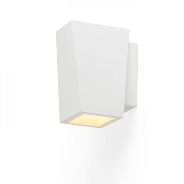 RENDL wandlamp KUBIS wandlamp Gips 230V G9 40W R10455 1