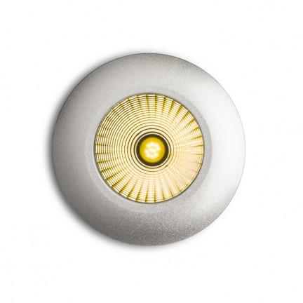 RENDL Ugradbena svjetiljka ICCO R ugradna srebrno siva 230V/350mA LED 7W 3000K R10457 1