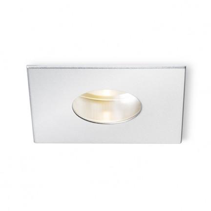 RENDL verzonken lamp RONA verstelbare inbouwlamp met ronde opening zilvergrijs 230V/350mA LED 5W 3000K R10458 1