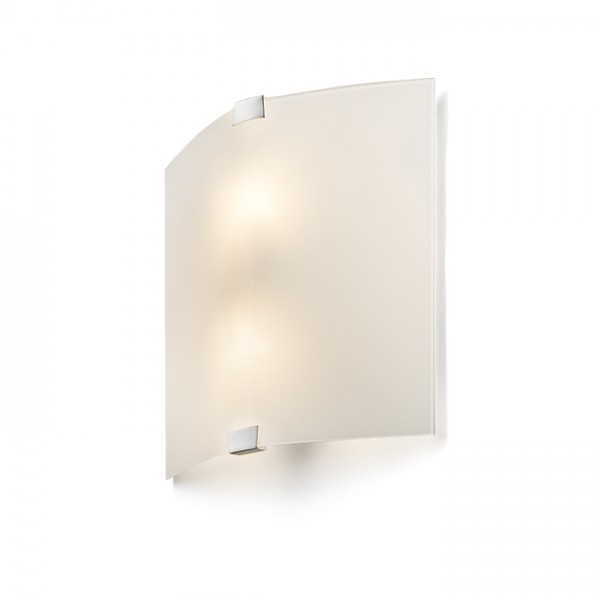 RENDL wall lamp ALEX wall frosted glass/chrome 230V E14 2x15W R10474 1