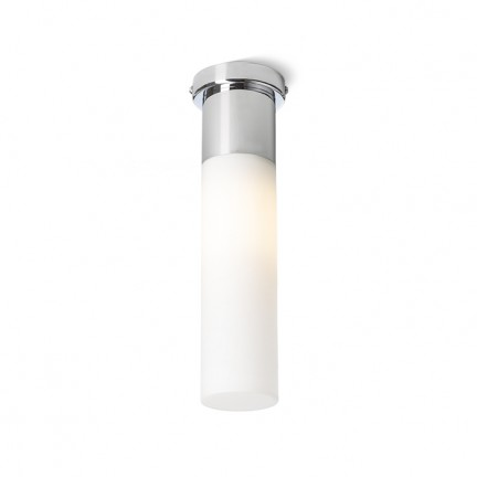 RENDL surface mounted lamp EIGHT ceiling opal-colored glass/chrome 230V E27 28W IP44 R10492 1