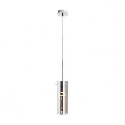 RENDL pendent SANSSOUCI I pendant chrome-tinted glass 230V E27 42W R10509 1