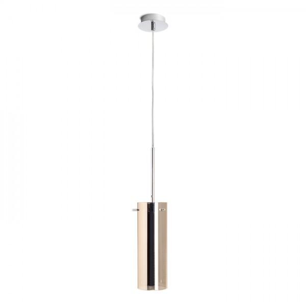 RENDL pendel SANSSOUCI I pendel kobberfarvet glas 230V E27 42W R10511 1