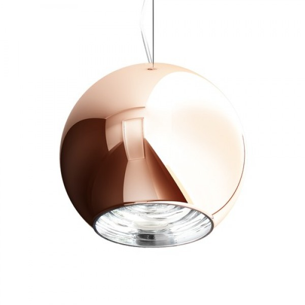 RENDL pendent BEAU MONDE 25 pendent copper-tinted glass 230V E27 25W R10517 1