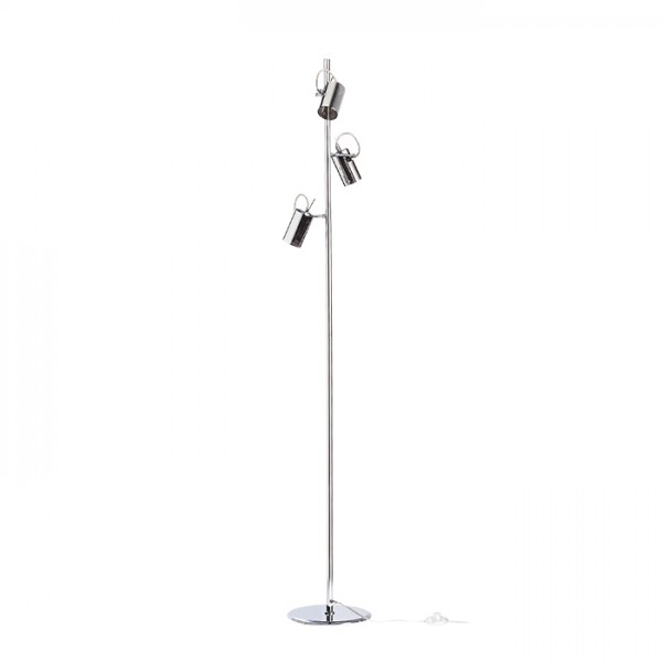 RENDL lámpara de pie BUGSY de pie cristal cromado 230V GU10 3x50W R10520 1