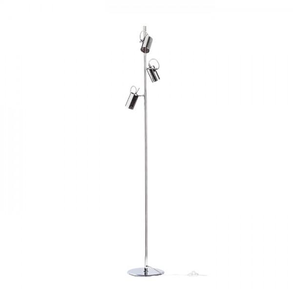 RENDL stajaća lampa BUGSY podna kromirano staklo 230V GU10 3x50W R10520 1