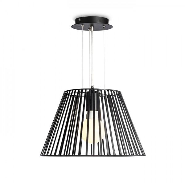 RENDL hanglamp VESCO hanglamp gitzwart 230V E27 42W R10536 1