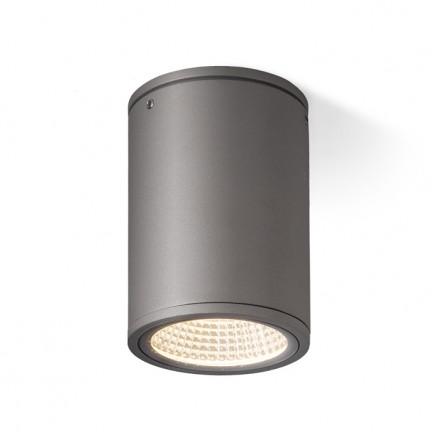 RENDL buiten lamp MIZZI plafondlamp antracietgrijs 230V LED 12W 44° IP65 3000K R10551 1