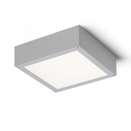 RENDL Aussenleuchte SCOTT Deckenleuchte silbergrau 230V LED 9.8W IP54 3000K R10552 1