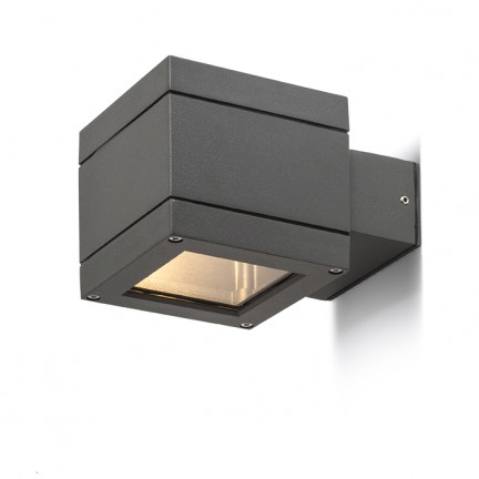 RENDL outdoor lamp TELO wall anthracite grey 230V G9 40W IP44 R10554 1